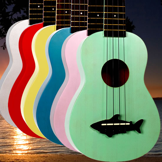 Makala Shark Bridge Ukulele