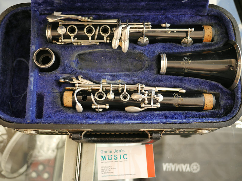 Used Evette Clarinet