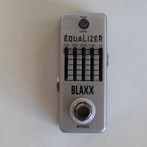 Blaxx 5 Band Equalizer Mini Pedal